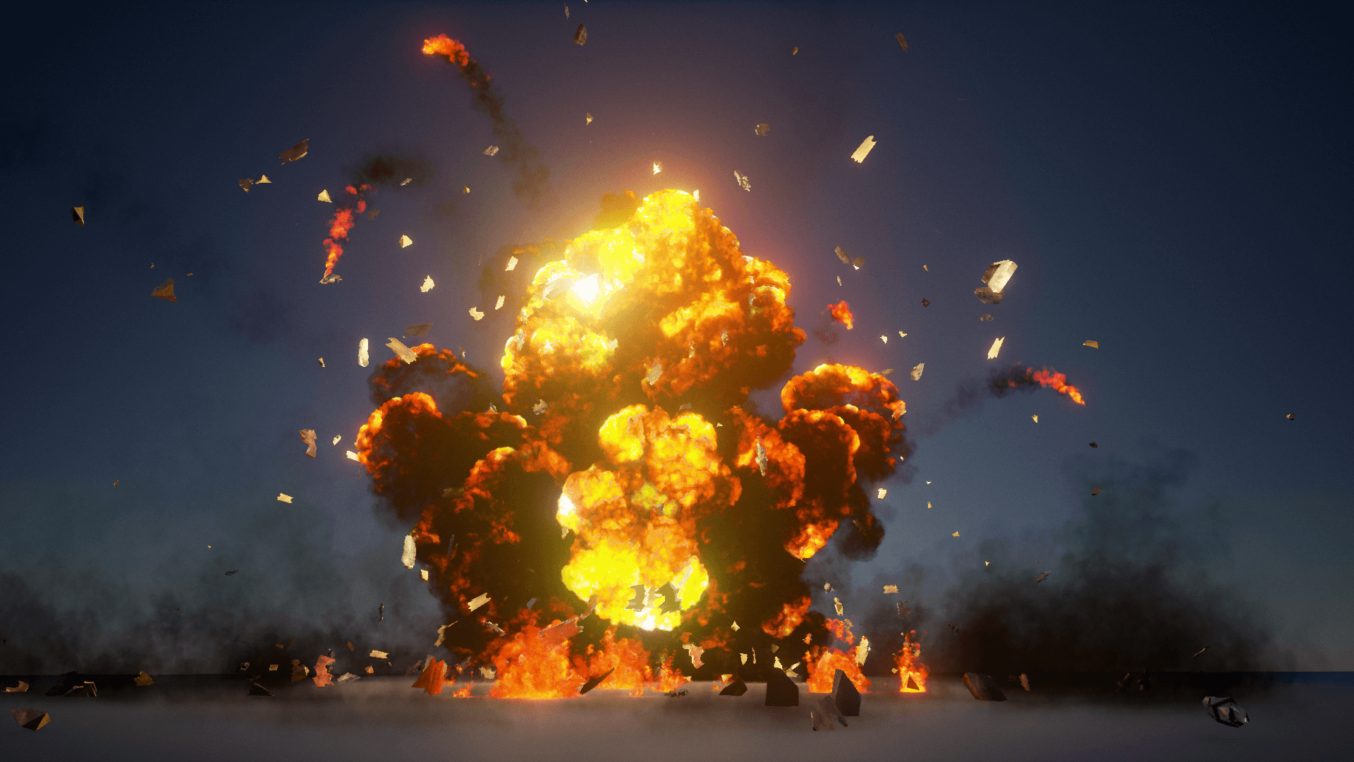 The Explosions Mega Pack