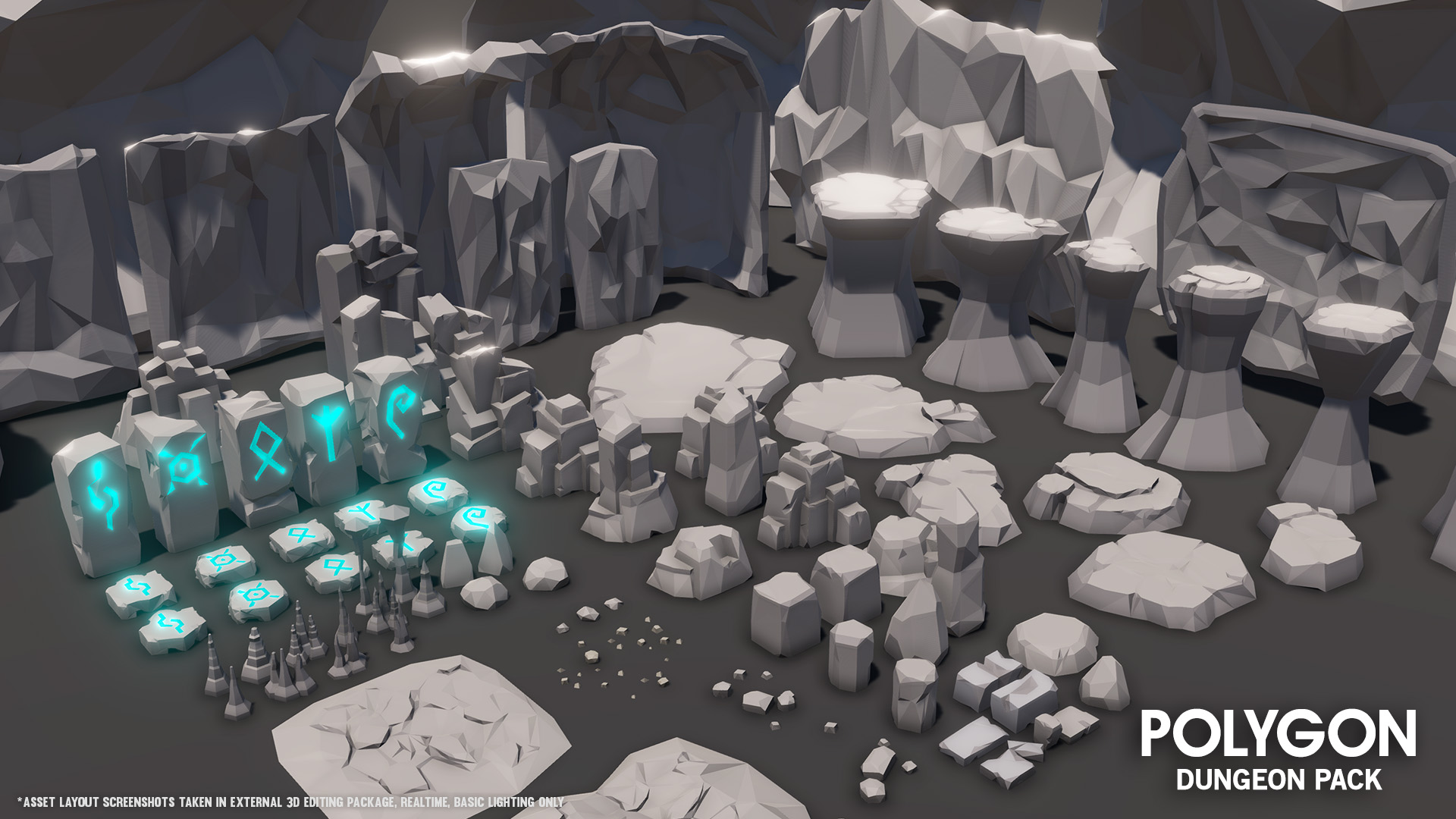 Polygon Dungeon Pack