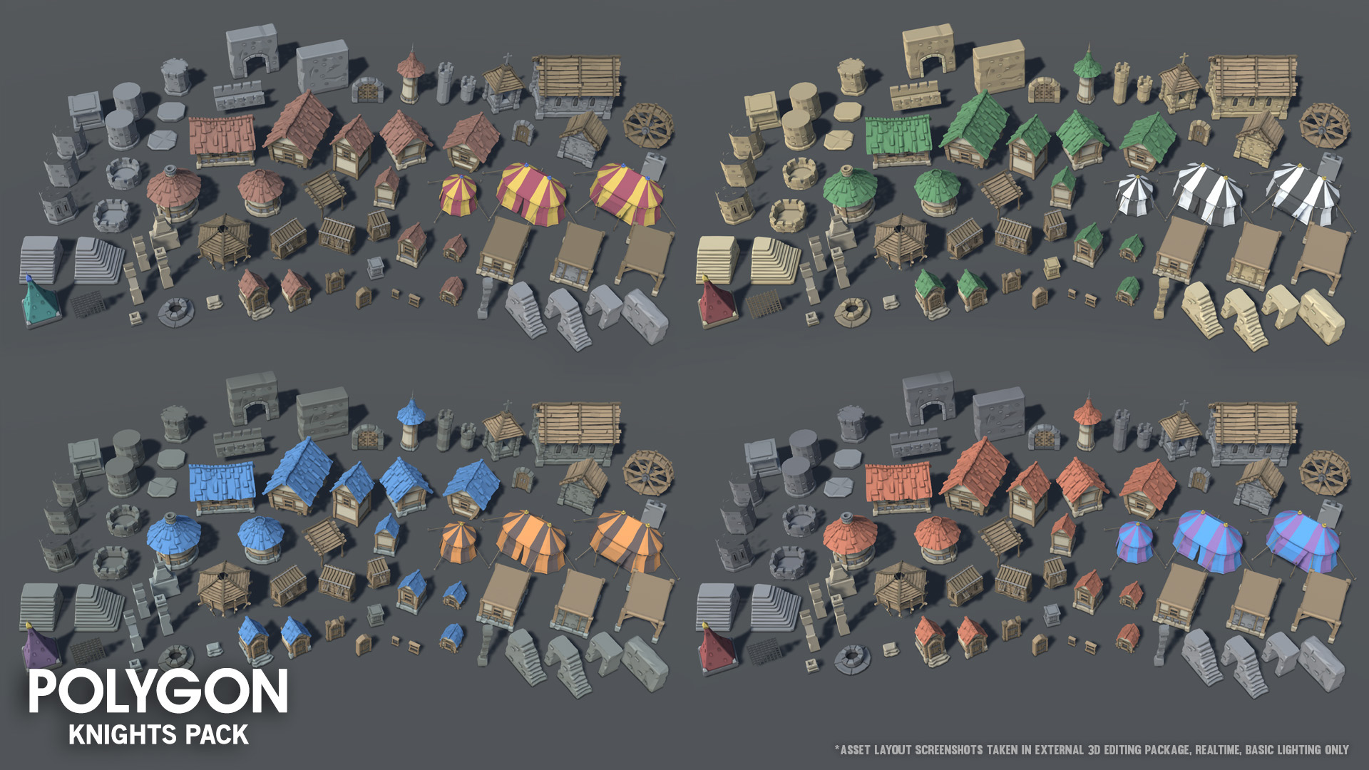Polygon Knights Pack