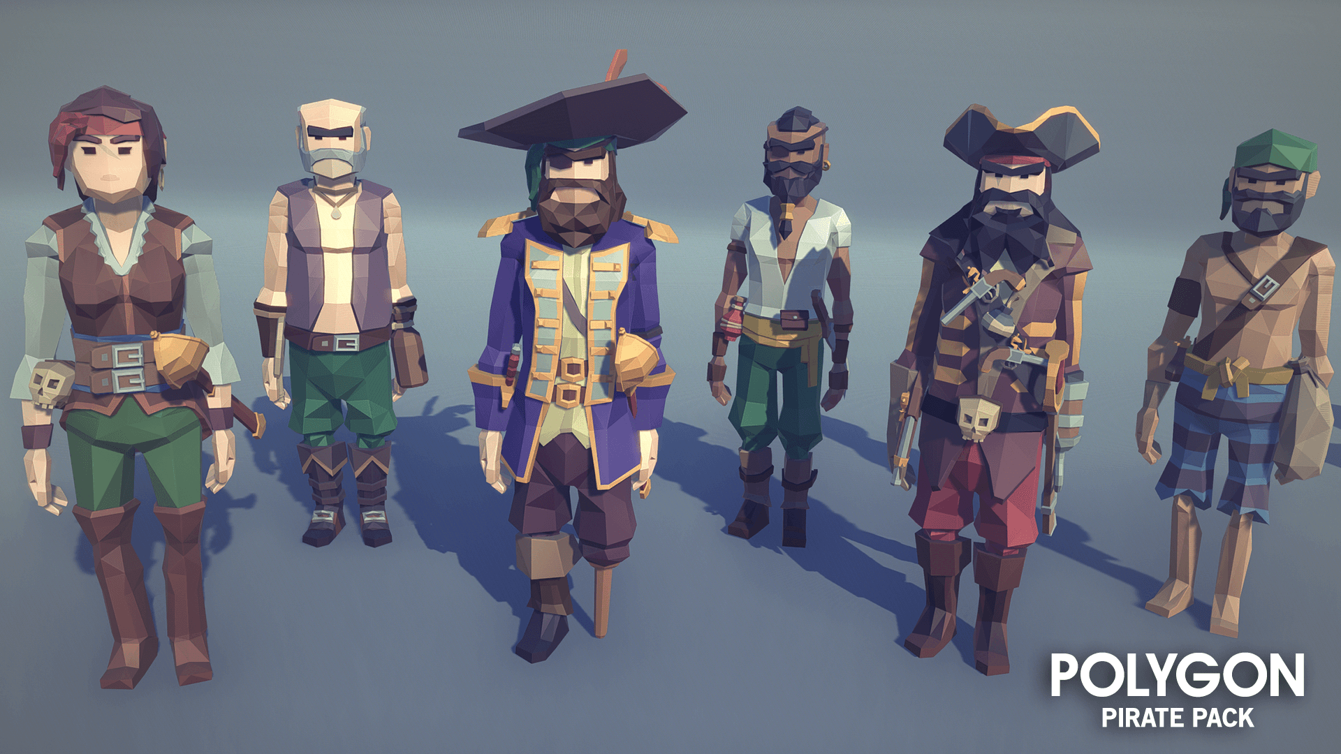 Polygon Pirate Pack